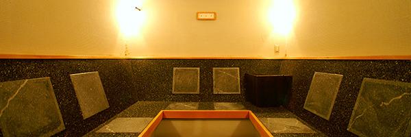 ゲルマニウム岩盤浴室