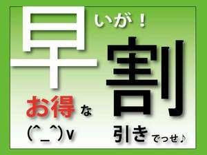 お得28日前に予約で割引き【さき楽】