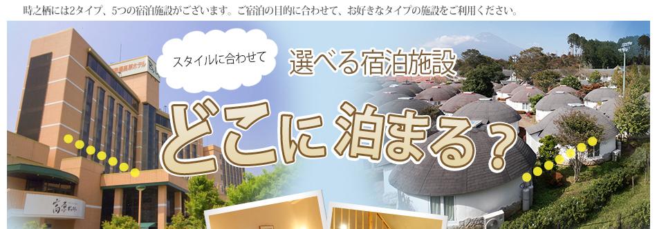 """選べる♪宿泊施設""""></p> <br clear="""