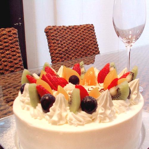 【記念日】ケーキ付♪(6号サイズ)あなたの大切な人へ♪
