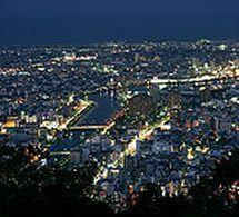 眉山からの夜景