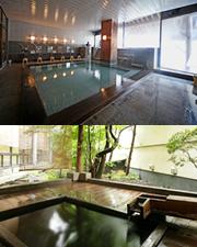草津ホテル露天風呂の写真