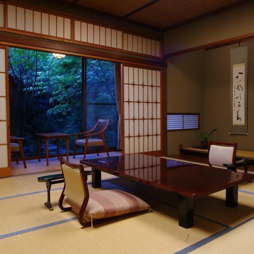 Main Building Superior Japanese-Style Room with Private Open-Air Bath