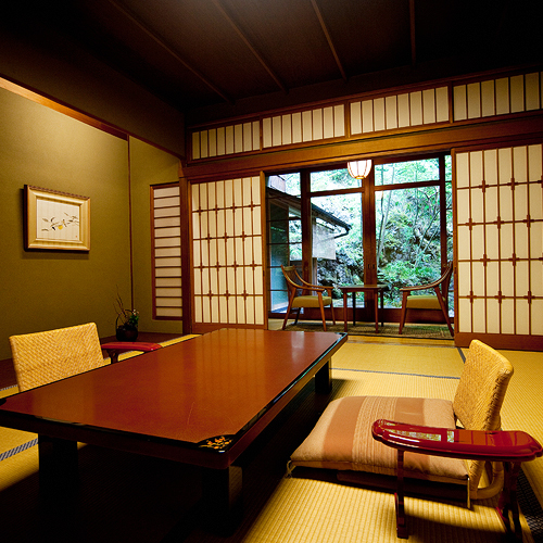 Main Building Standard Japanese-Style Room with Private Open-Air Bath