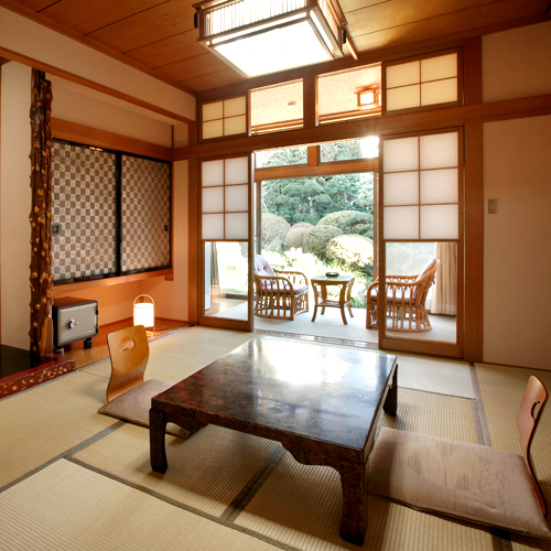MAIN BUILDING CLASSIC GARDEN VIEW JAPANESE STYLE ROOM