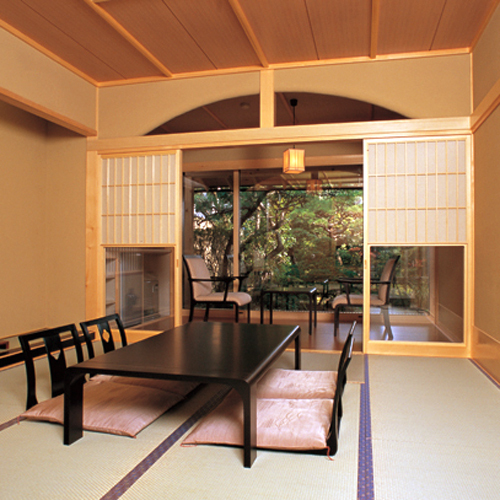 Main Building Executive Garden View Japanese-Style Room with Cypress Bath