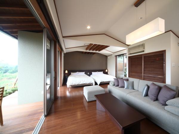 Villa Superior Twin Room with Private Open-Air Bath