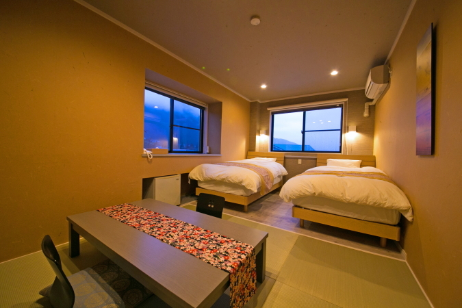 MAIN BUILDING STANDARD MOUNTAIN VIEW JAPANESE STYLE ROOM Room Size 10 to 15 sqm