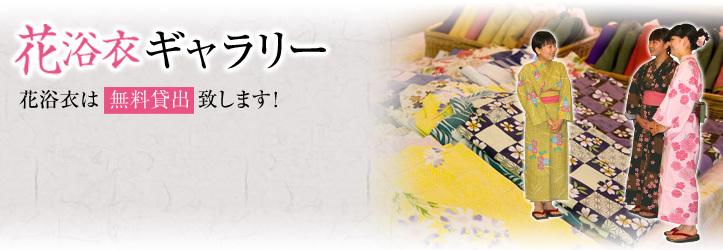 花浴衣ギャラリー
