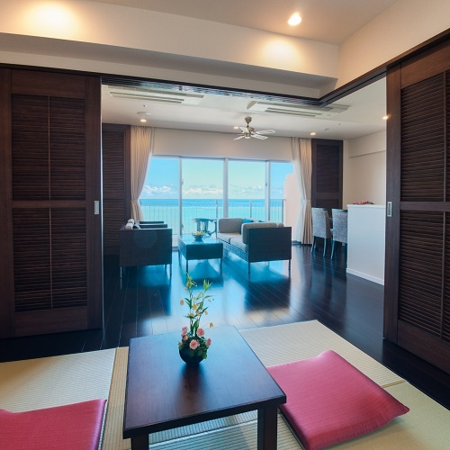 SUITE Ocean View Semi Western-Style Room 61 to 70 Sq M