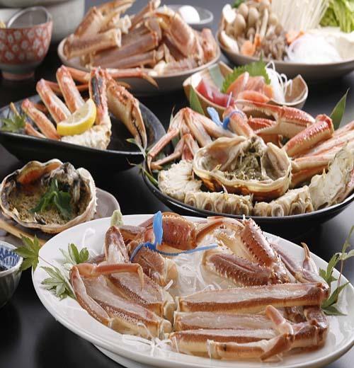 [写真]津居山かに料理