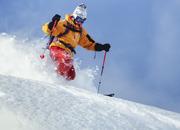 スキーレンタル3点付き◇スノーモービル体験無料(夕朝食付)