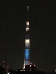 【客室】夜見る東京スカイツリー(R)