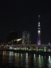 【周辺】水上バスから見る東京スカイツリー(R)夜景