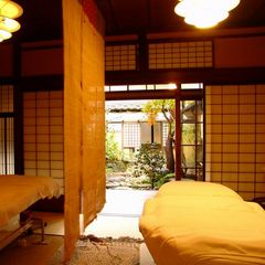 【エステ】「りらっくす蔵」には和室のエステルームも。落ち着いた空間で、まさにりらっくす