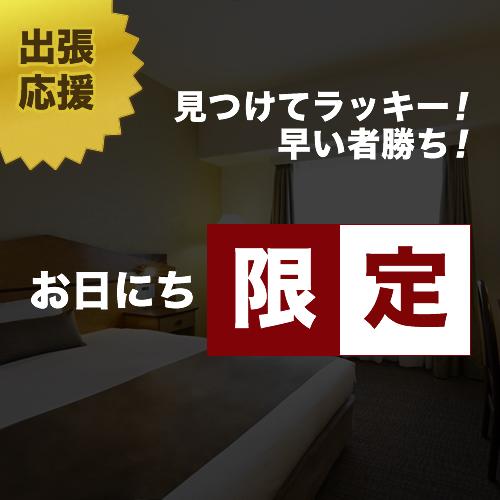 【ビジネス・出張】2月日にち限定 18:00以降のチェックインならこちらのプランでお得!(素泊り)