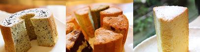 鹿児島市荒田の人気洋菓子店シフォンシフォンのふわっふわシフォンケーキが味わえる!