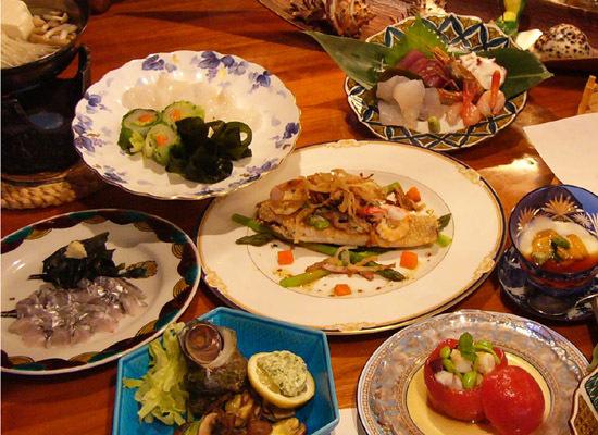 現金特価!旨い魚と加賀野菜で作る、オーナー特製自慢の海鮮コース!
