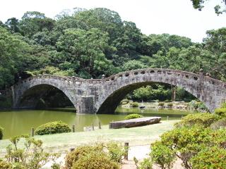 諫早公園 眼鏡橋