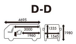 ニッポンレンタカーのDD【AT車】(ワンボックスバン、1250kg)-標準コース★ETC標準装備!