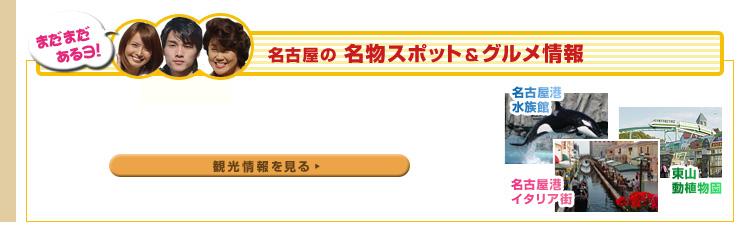 まだまだあるヨ!名古屋の名物スポット&グルメ情報