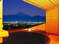 甲府の夜景を独占する温泉 11種類の風呂 ホテル神の湯温泉