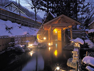 湯の小屋温泉 秘湯の宿 龍洞