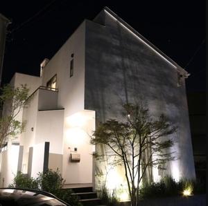 光と水の邸宅