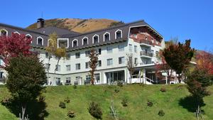 温泉とバイキングが自慢の高原リゾート☆白馬アルプスホテル