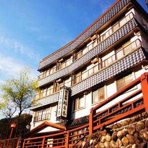 山陰湯村温泉 温泉街の中心に立つ宿 橋本屋旅館