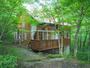 緑の森の中、デッキで那須を満喫。静寂、小鳥のさえずり、木々の/民泊【Vacation STAY提供】