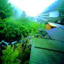 大正12年創業 黄金色の巨石露天風呂 横谷温泉旅館