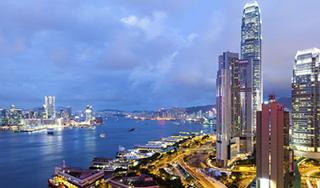 東京発 香港往復航空券