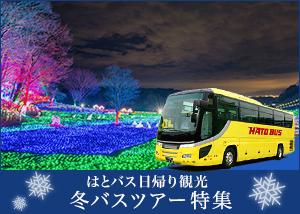 はとバスで行く日帰り冬のバスツアー