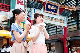 #横浜 #中華街で食べ歩き♪