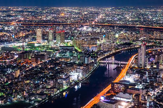 【2階建てバス】東京スカイツリー®夜景ライナー