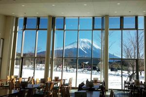 【2階建てトイレ付きバス・アストロメガで行く】ぐるり周遊!山梨・静岡富士山眺望スポットと自然の芸術品富岳風穴「氷筍」