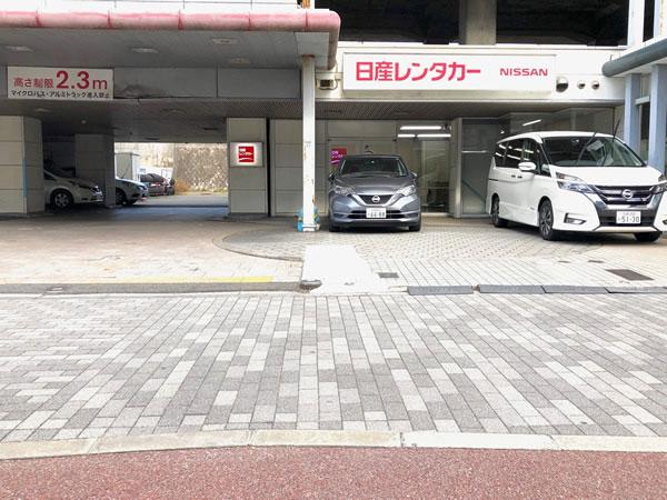 日産レンタカー京都新幹線駅前