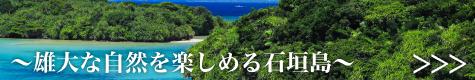 雄大な自然を楽しめる石垣島