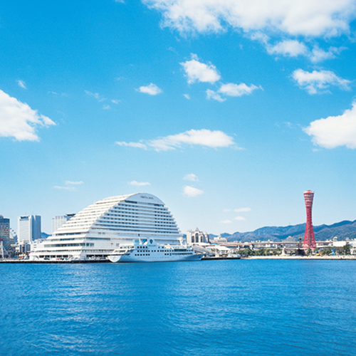 神戸メリケンパークオリエンタルホテル写真