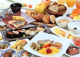 リッチモンドホテルのしっかり朝食