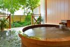死海風呂と岩盤浴 自家源泉の貸切露天 ヒーリングイン ホワイトペンション