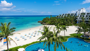 县月海滩酒店
