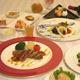 フランス料理フルコース(一例)