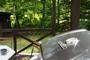 北軽井沢Blue house 森林に囲まれた屋根付きテラスのプライ【Vacation STAY提供】