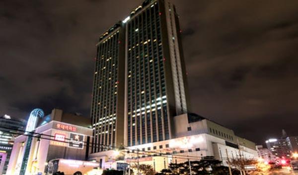 釜山(プサン)ロッテホテル