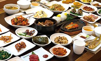全羅南道式韓定食