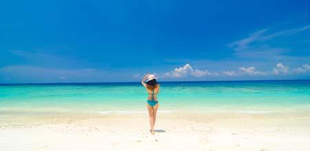 プライベートビーチがある海外ホテル