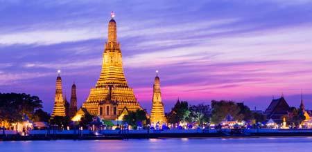 タイ観光スポットランキング