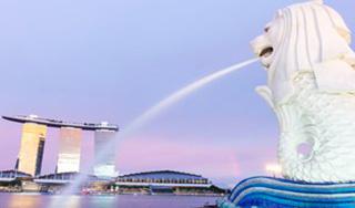 東京発 シンガポール往復航空券
